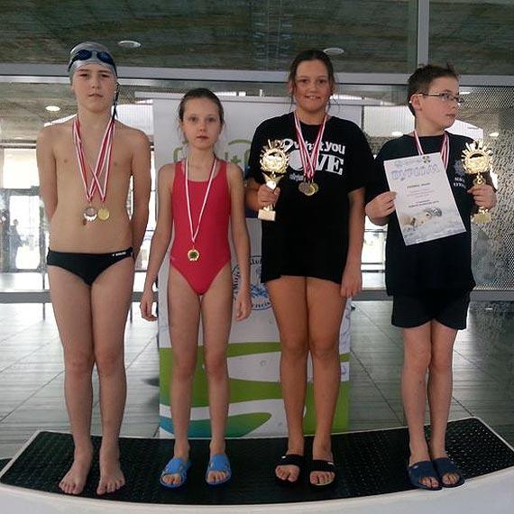 Zwycięstwo Czwórki w Sobotach Pływackich