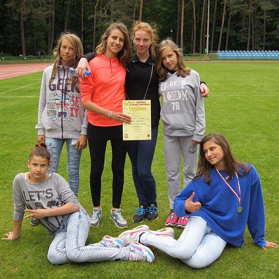 IV miejsce dziewcząt z ZSP4 w Finale Wojewódzkim Czwórboju Lekkoatletycznego