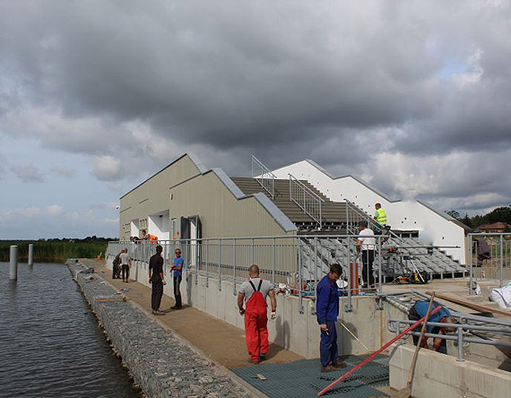Przystań jachtowa w Łunowie blisko finiszu
