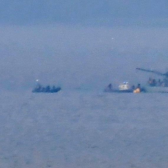 Następna bomba na dnie Zalewu Szczecińskiego. Czekamy na rozpoznanie niebezpiecznego ładunku przez specjalistów 8 Flotylli Obrony Wybrzeża