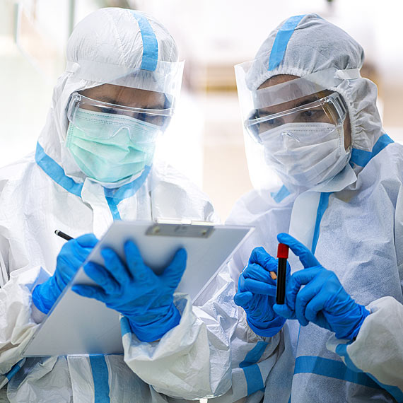 Zakażenia wirusem SARS-CoV-2. Stan na godz: 8:00