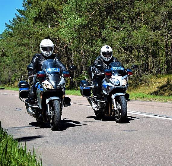 Motocyklowe patrole wyjechały na ulice Świnoujścia