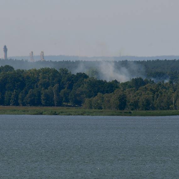 Strażacy z Międzyzdrojów gasili w Świnoujściu