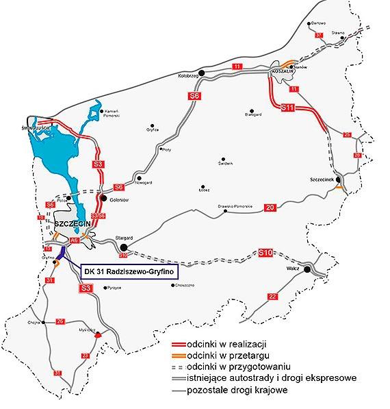 Wnioskujemy o decyzję środowiskową dla DK31 Radziszewo - Gryfino