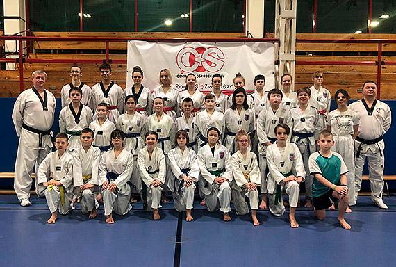 Zgrupowanie kadr wojewódzkich taekwondo