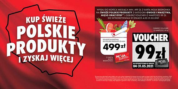 Kwiecień miesiącem polskich produktów świeżych w Biedronce