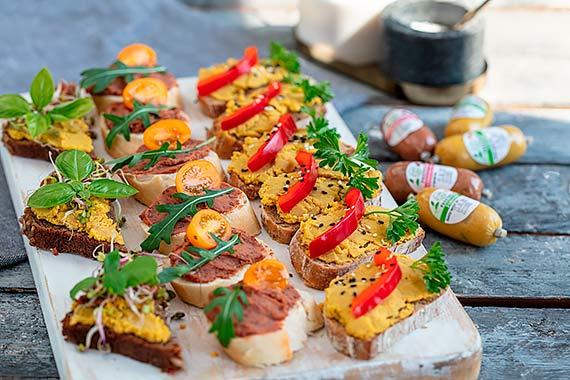Mini kanapeczki finger food – zdrowa i lekka przekąska w sam raz na lato