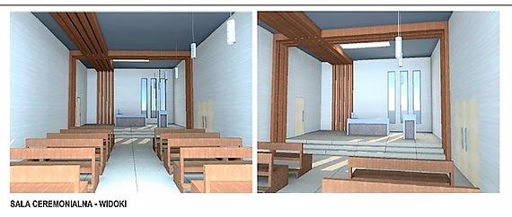 Cmentarz a obwodnica. Zobacz projekt nowego domu pogrzebowego